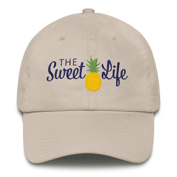 The Sweet Life Hat - Embroidered Classic Ball Cap
