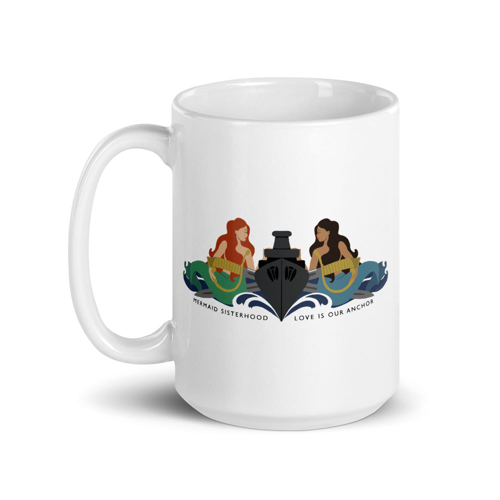 Surface Mermaid Sisterhood Insignia - Coffee Mug