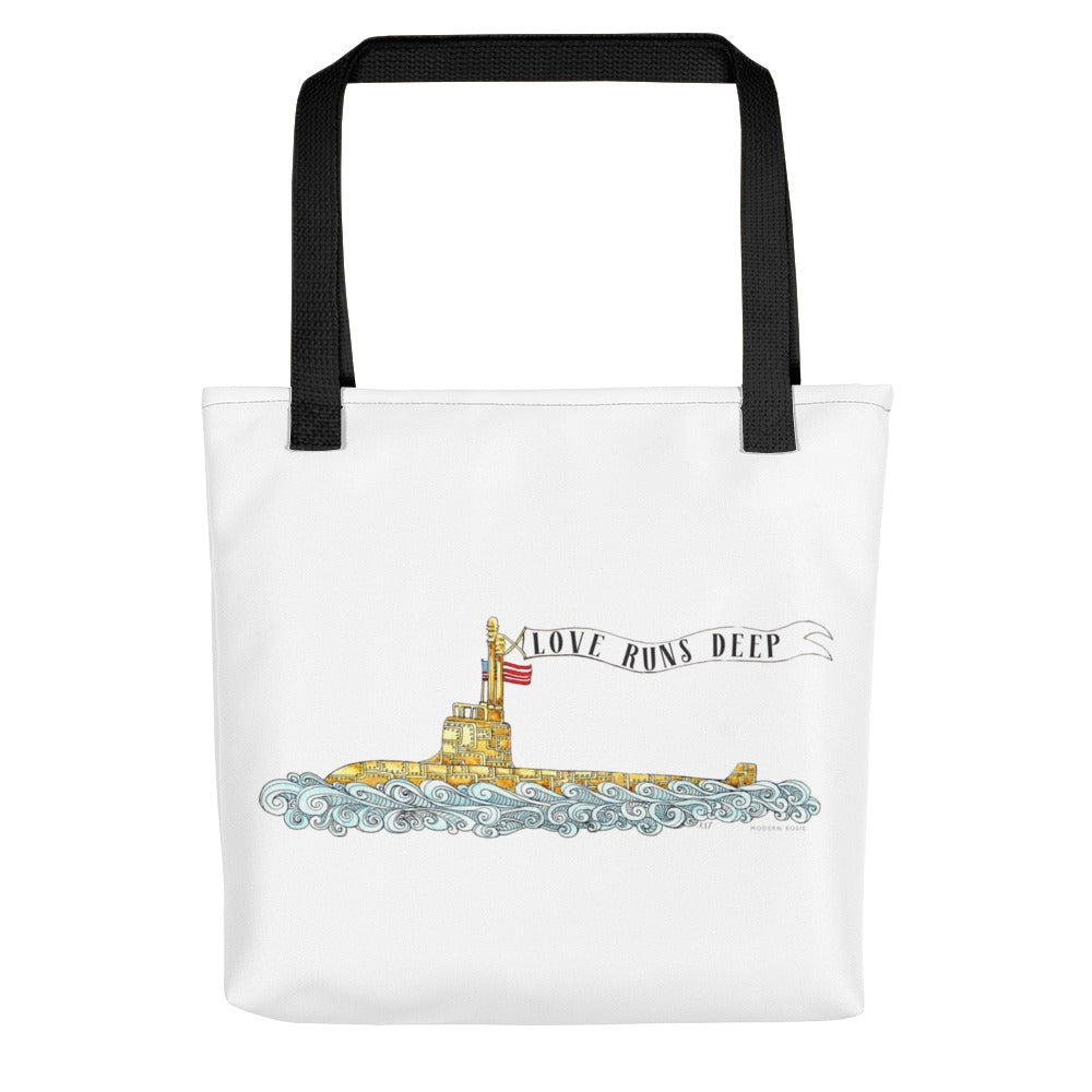 Love Runs Deep Tote bag