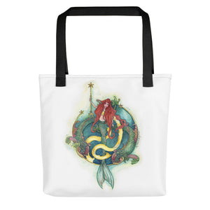 Mermaid and Dolphin Tote bag from Modern Rosie