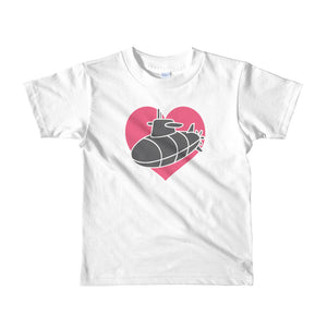 "The ""Sub Heart"" Kids Tee - little kids"