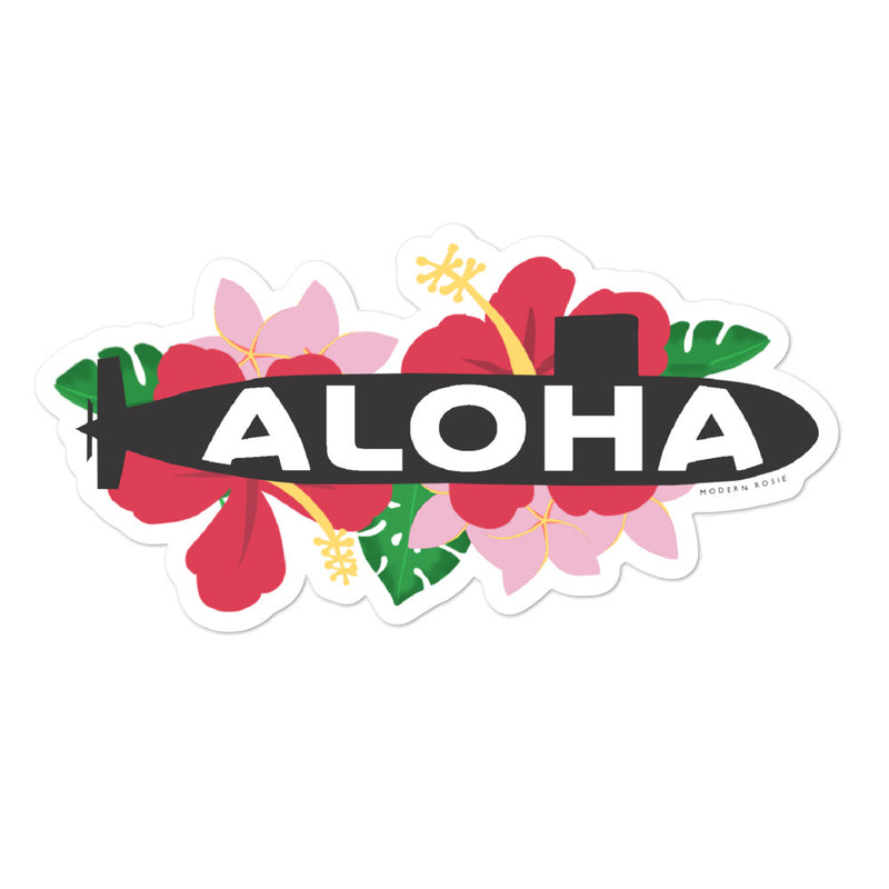 Aloha Submarine - sticker