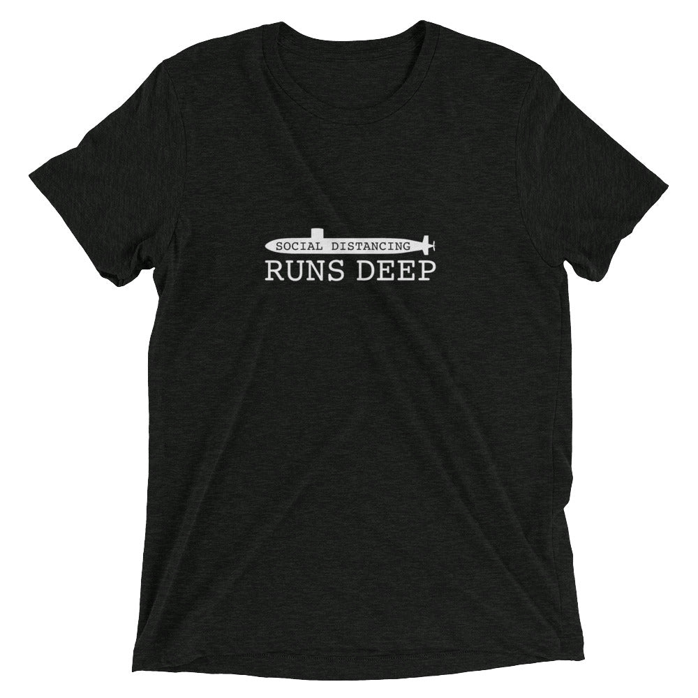 Social Distancing Run Deep - Tee