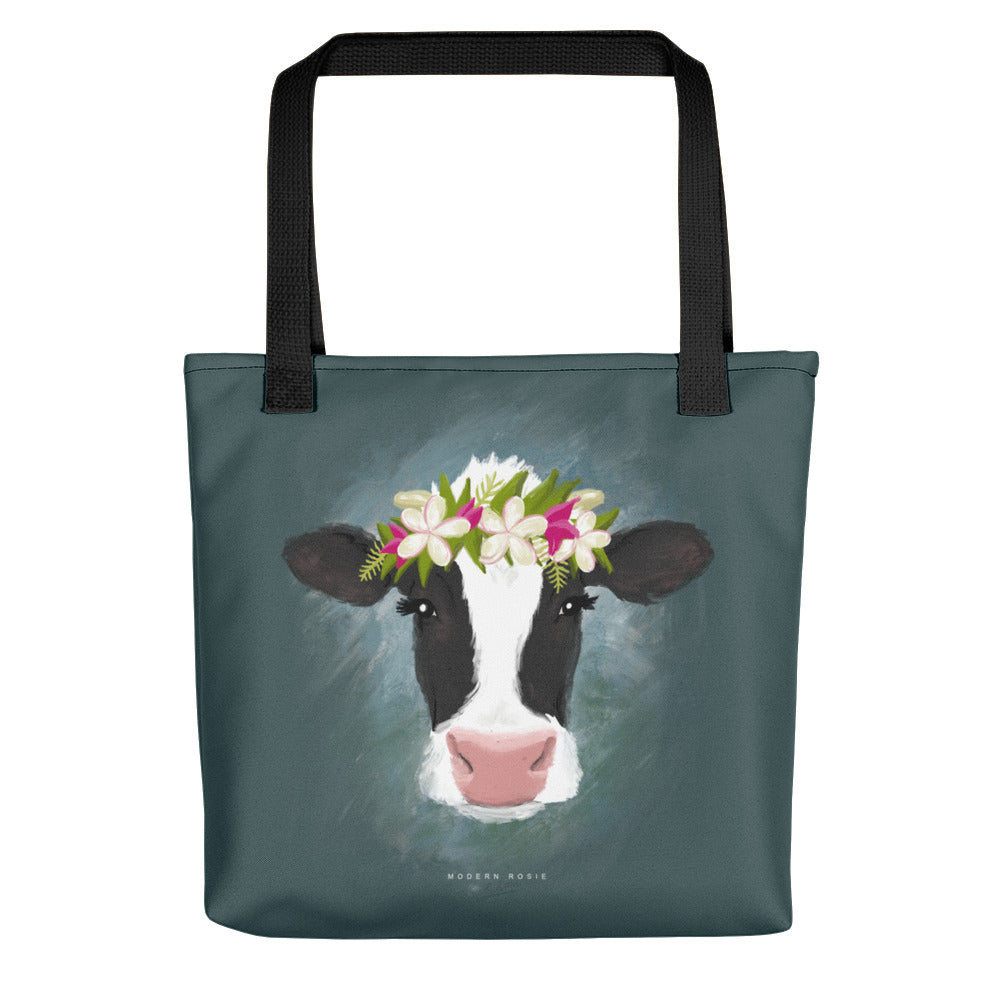 The Aloha Cow Tote bag
