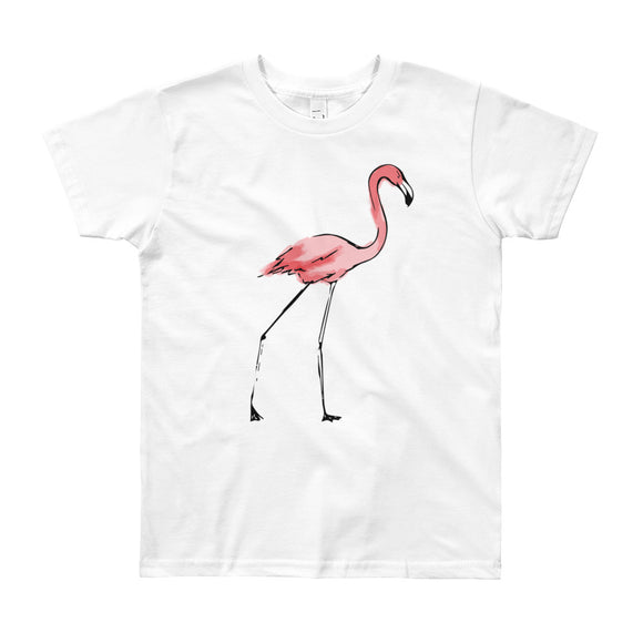 "The ""Flamingo"" Tee - big kids from Modern Rosie"