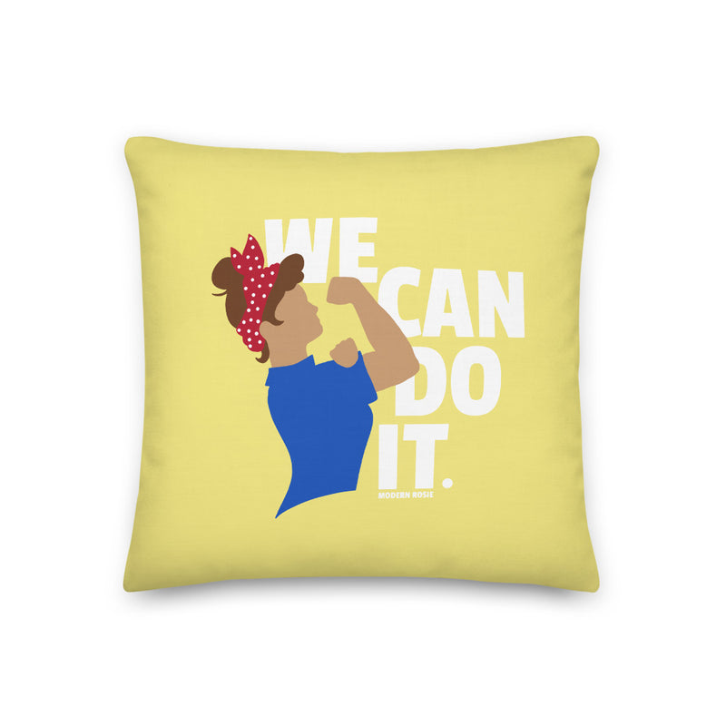 We Can Do It - Rosie the Riveter Throw Pillow