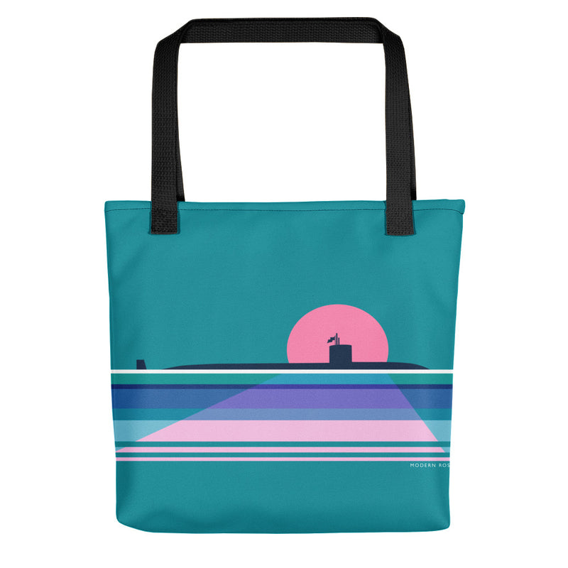 Moonlit Submarine - Tote bag
