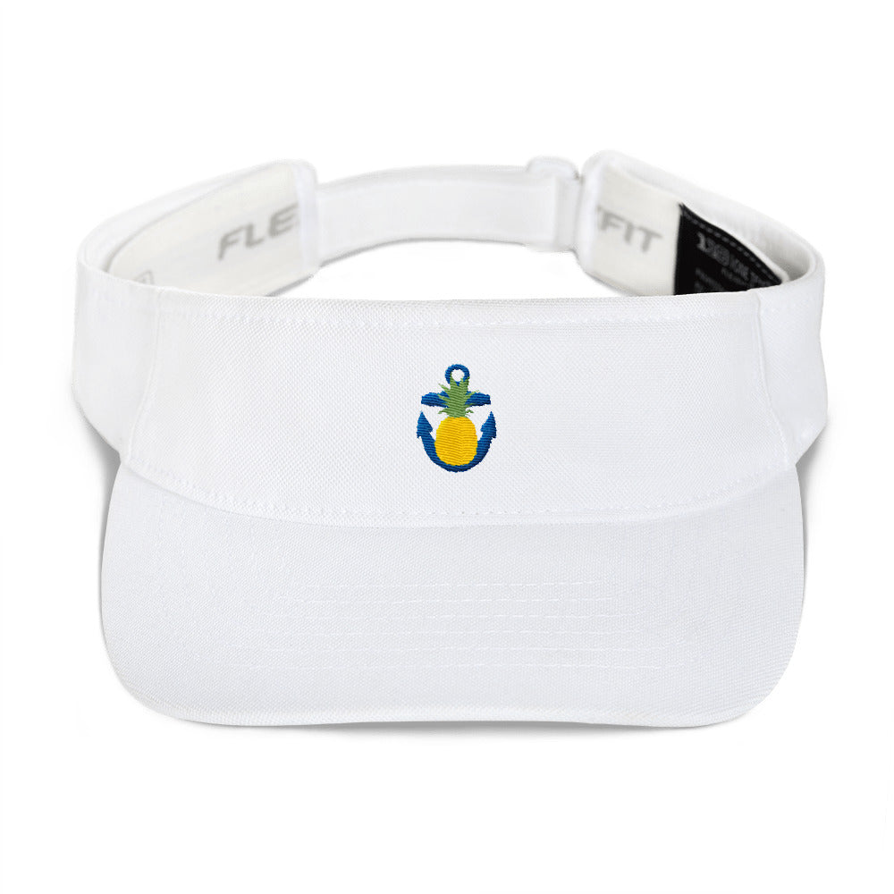 Pineapple Anchor Classic Embroidered Visor