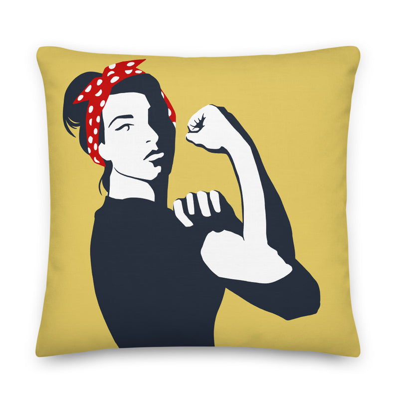 The New Rosie - Throw Pillow