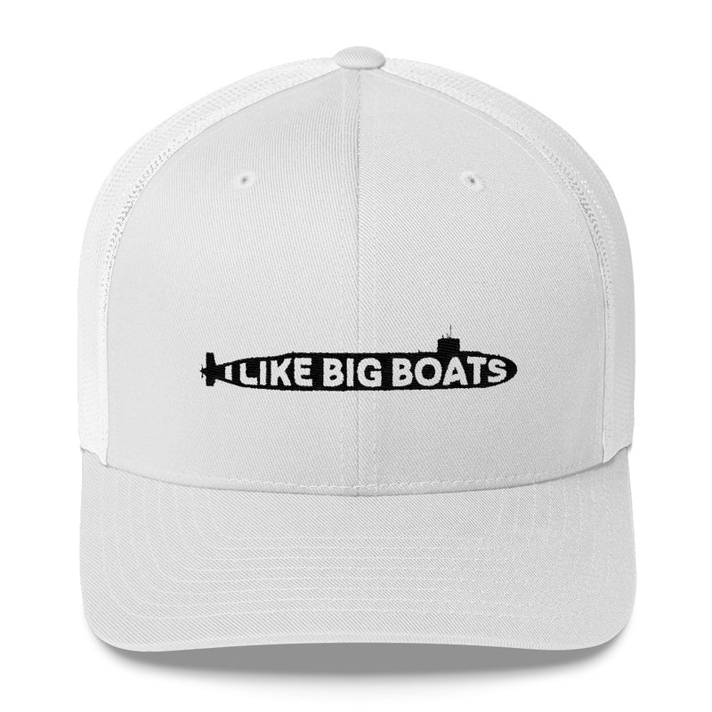 I Like Big Boats - Trucker Cap