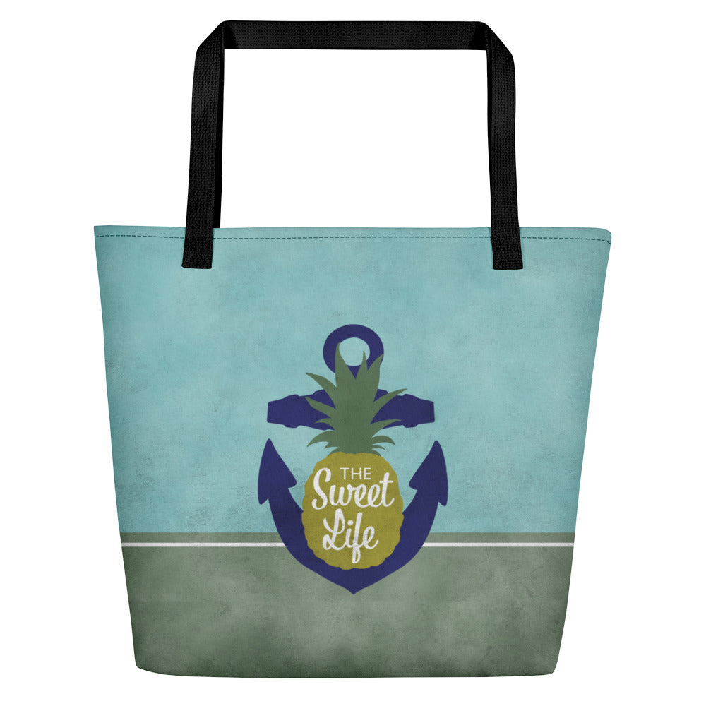 The Sweet Life Beach Bag