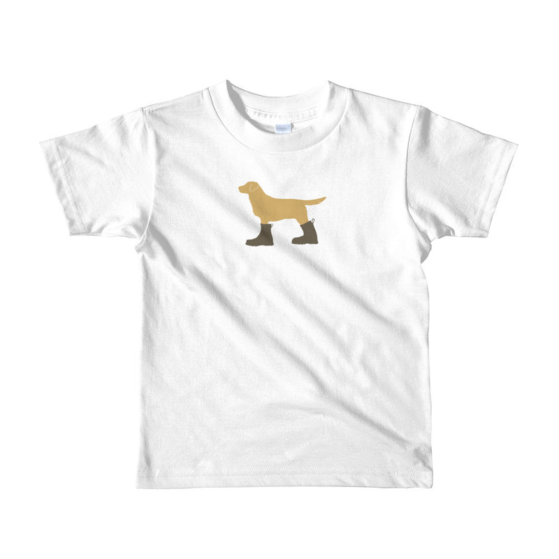 "The ""Dog in Combat Boots"" Tee - little kids"