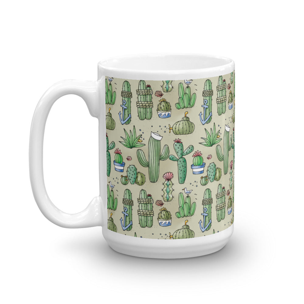 Salty Cacti - Coffee Mug