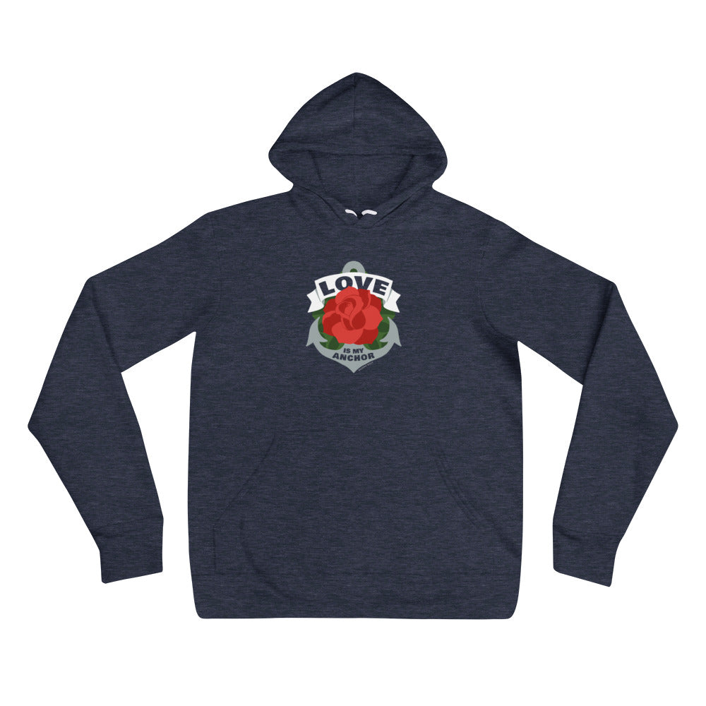 The Love is My Anchor hoodie