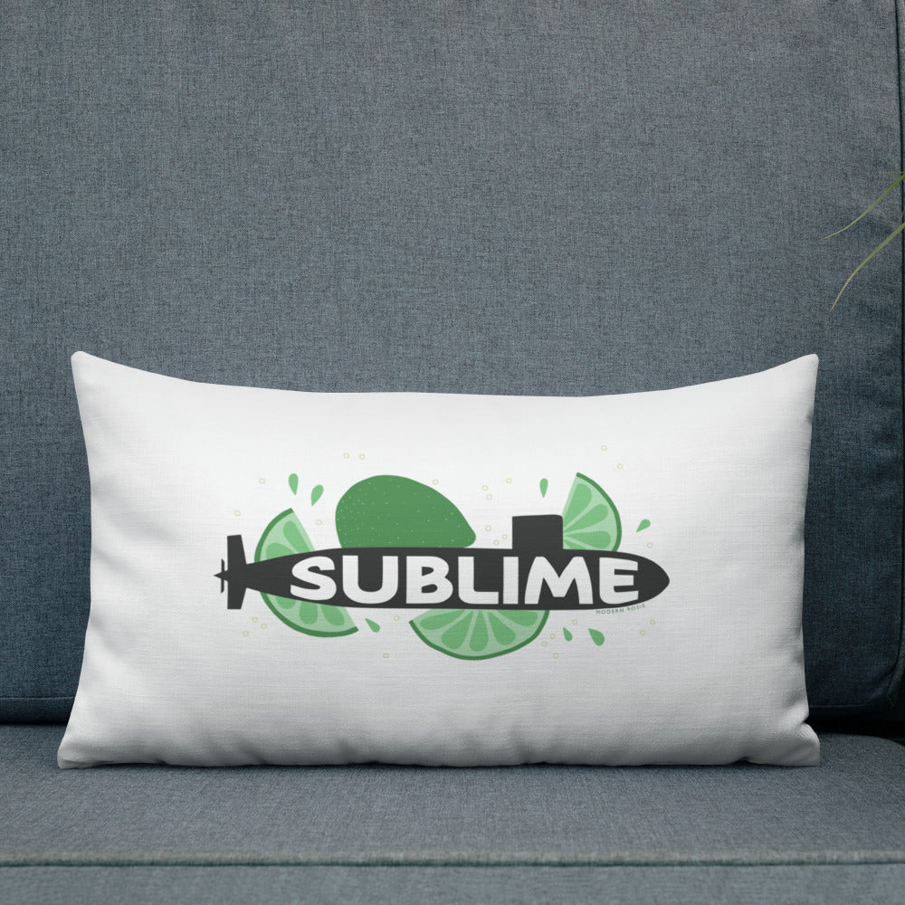 The Sublime Throw Pillow