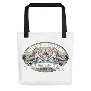 Mermaid Sisterhood - Tote bag from Modern Rosie