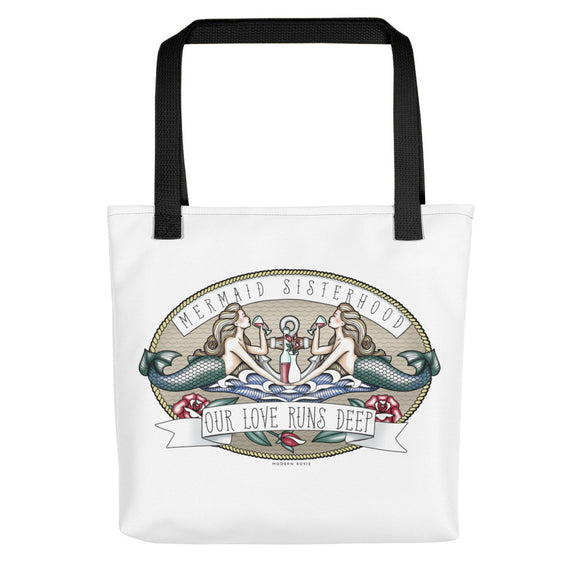 Mermaid Sisterhood - Tote bag