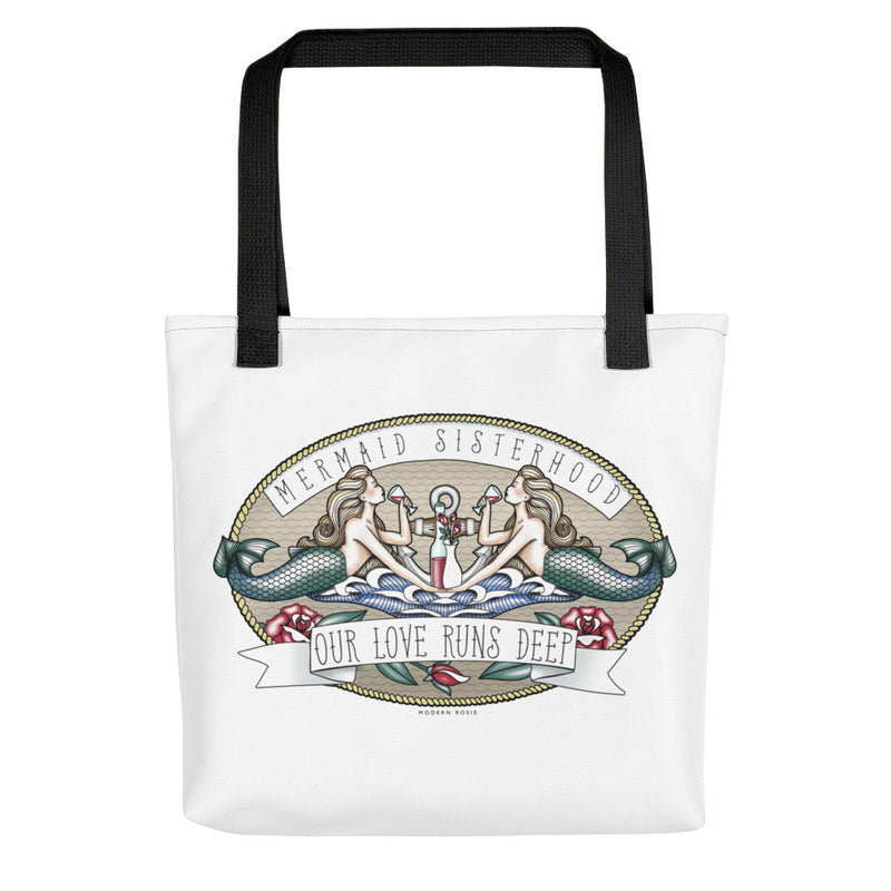 Tipsy Mermaid Sisterhood - Tote bag