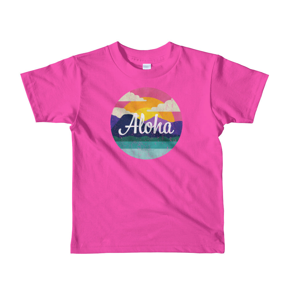 "The ""Aloha"" Tee - little kids"