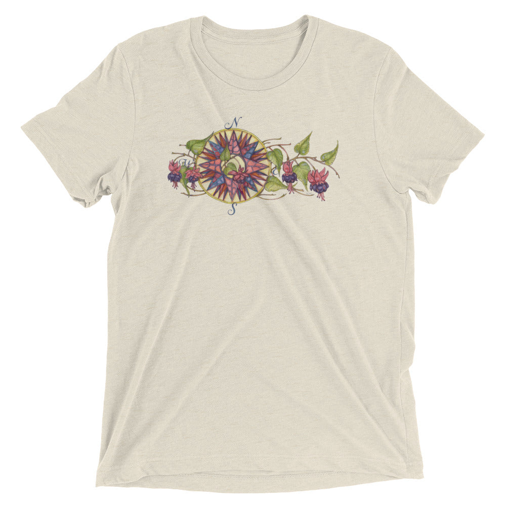 Blooming Compass: Fuchsia of New England - Classic Tee