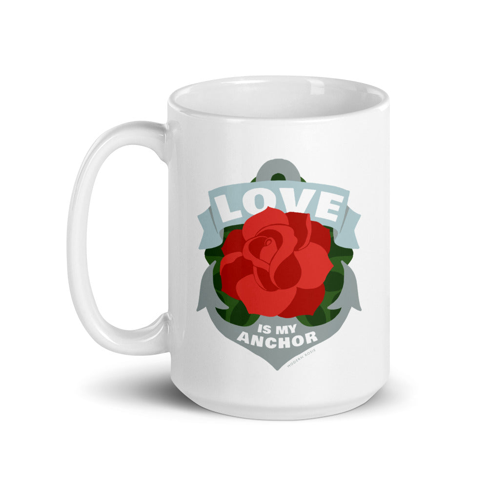 The Love is My Anchor Mug