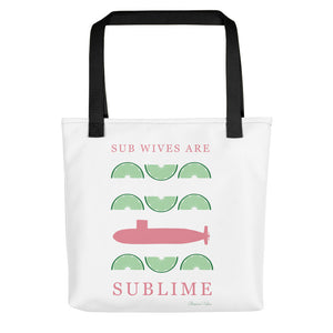 Sub Wives are Sublime Tote bag from Modern Rosie