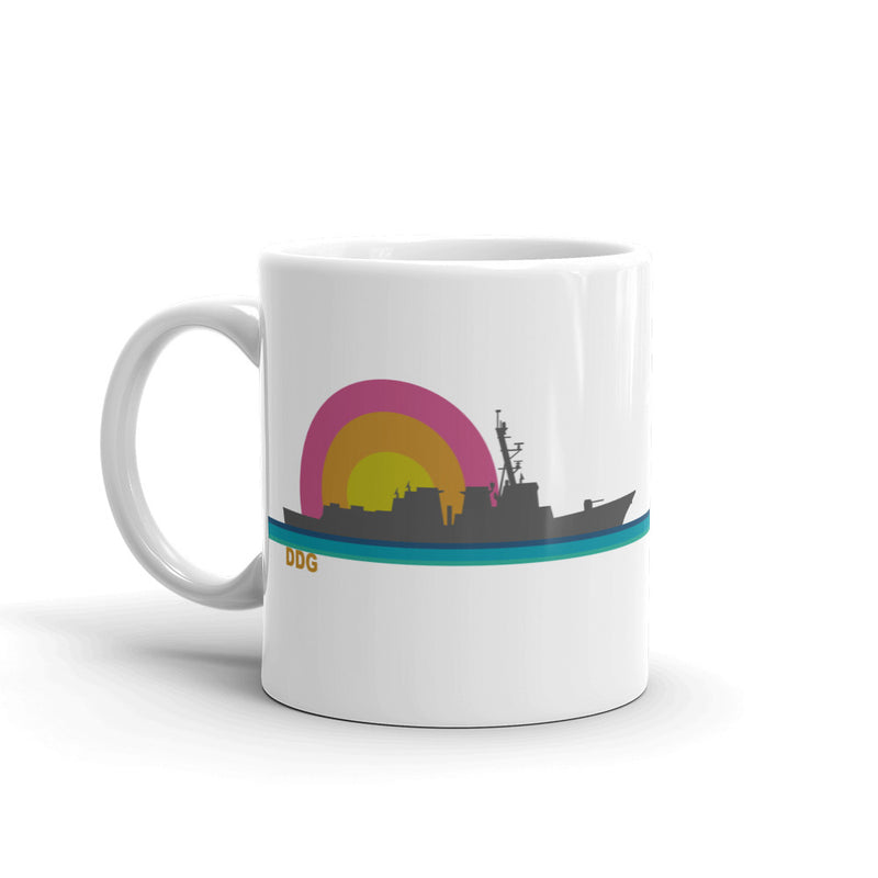 Destroyer Sunset - Coffee Mug
