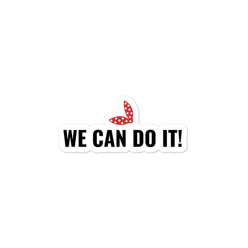 We Can Do It - Scarf - Sticker