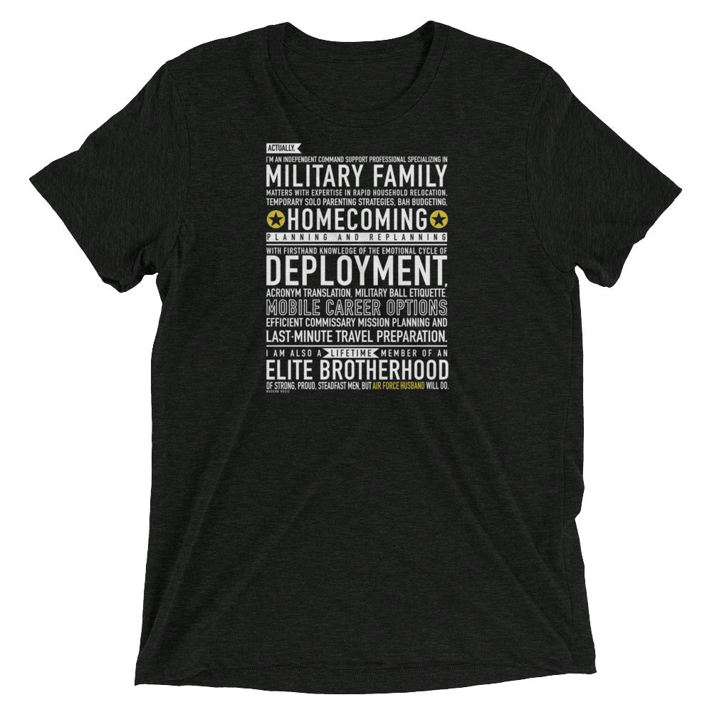 "The ""Air Force Husband Will Do"" Tee"