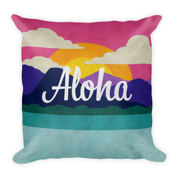 Aloha Throw Pillow from Modern Rosie