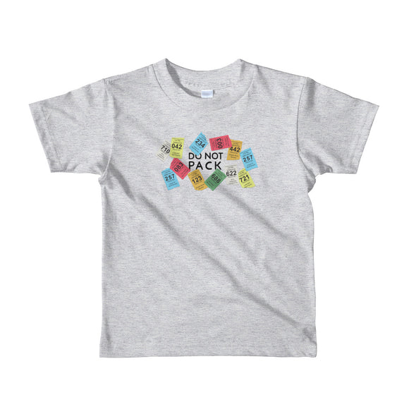 The Don't Pack The Kid Tee - Little Kids from Modern Rosie