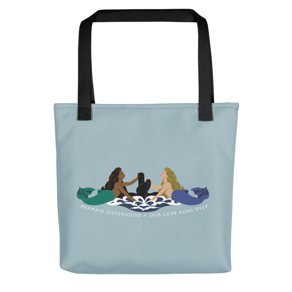Submarine Mermaid Sisterhood Insignia - Tote bag