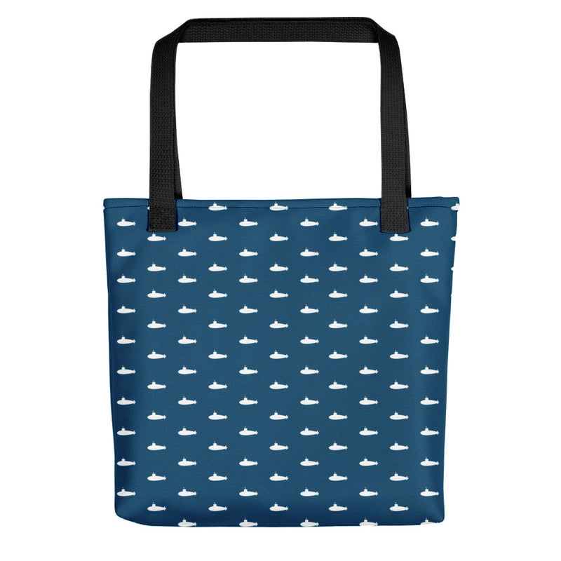 Tiny Subs (Navy) Tote bag