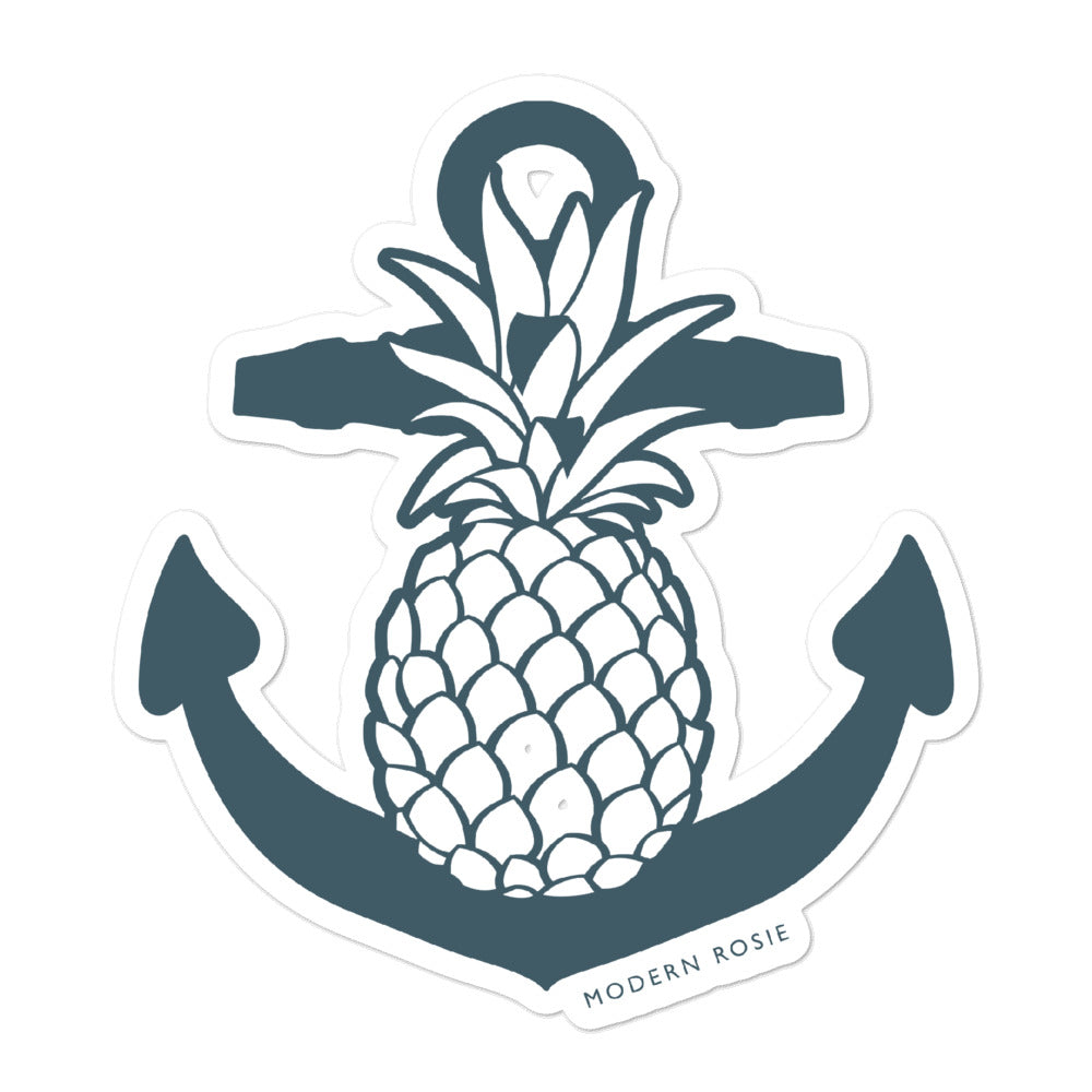 Pineapple Anchor - sticker