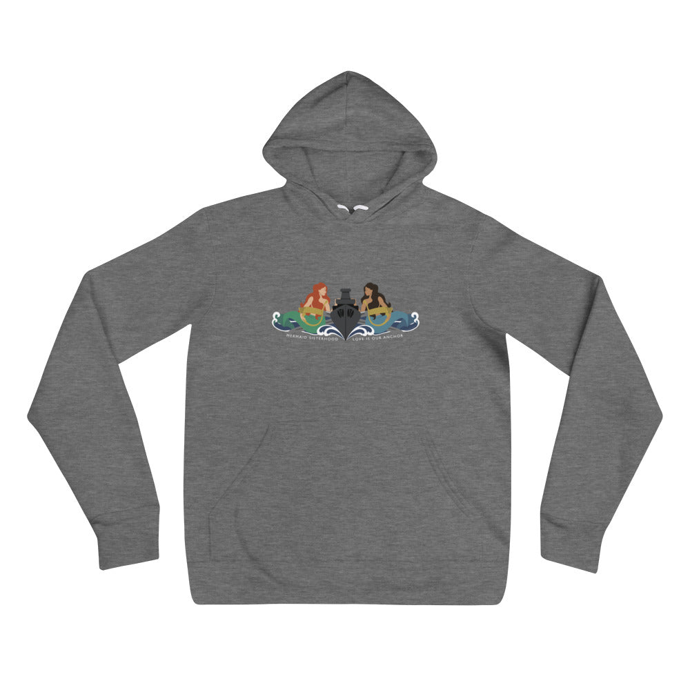 Surface Mermaid Sisterhood Insignia - Cozy hoodie