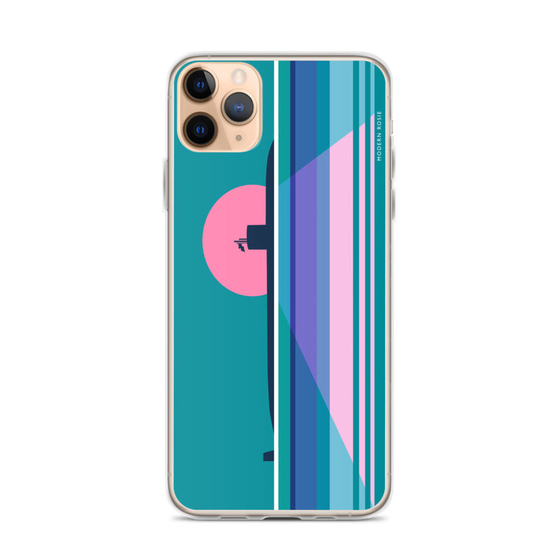 Moonlit Submarine - iPhone Case