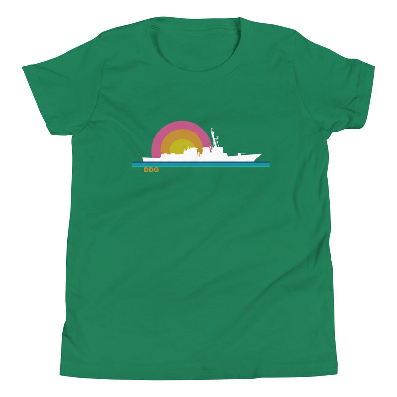 Destroyer Sunset - Youth Short Sleeve T-Shirt