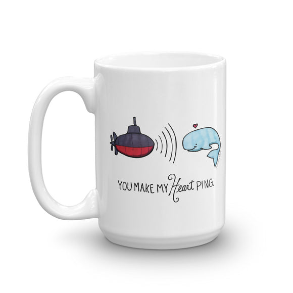 You Make My Heart Ping Mug
