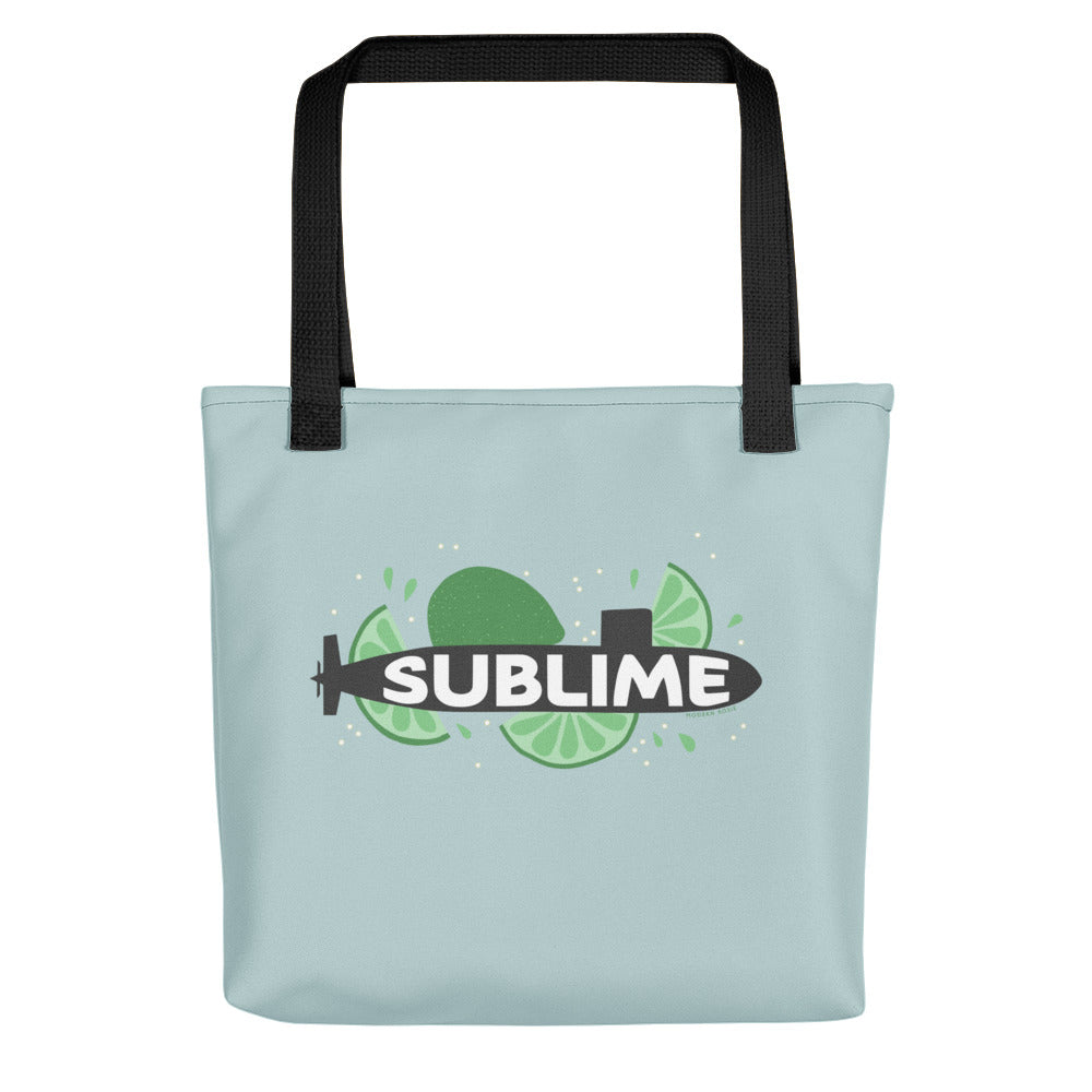 The Sublime Tote bag (blue)