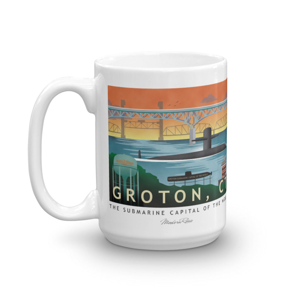 Groton Submarine Base - Coffee Mug