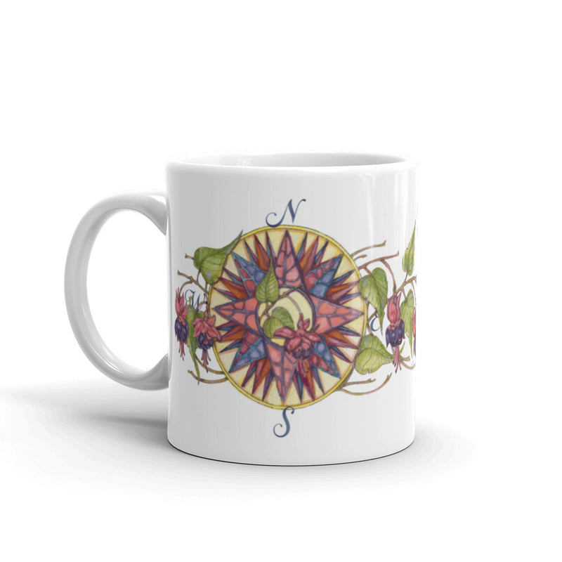 Blooming Compass: Fuchsia of New England - Fuchsia Mug