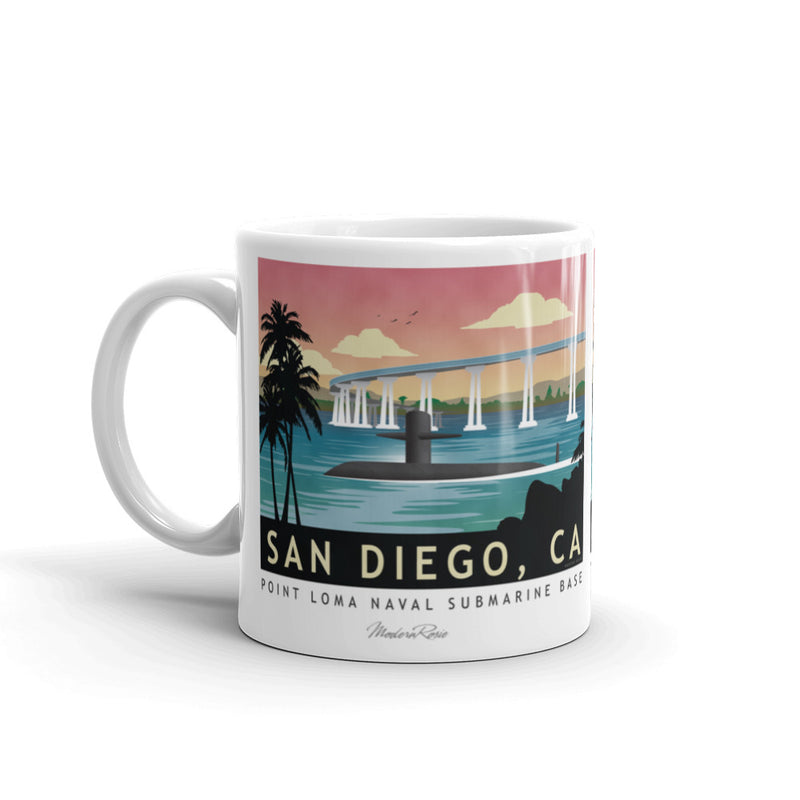 San Diego Submarine base - Coffee Mug