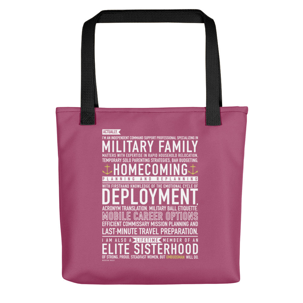 OMBUDSMAN Will Do - Tote bag