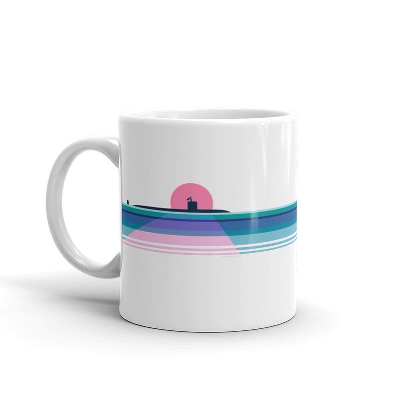 Moonlit Submarine- Coffee Mug