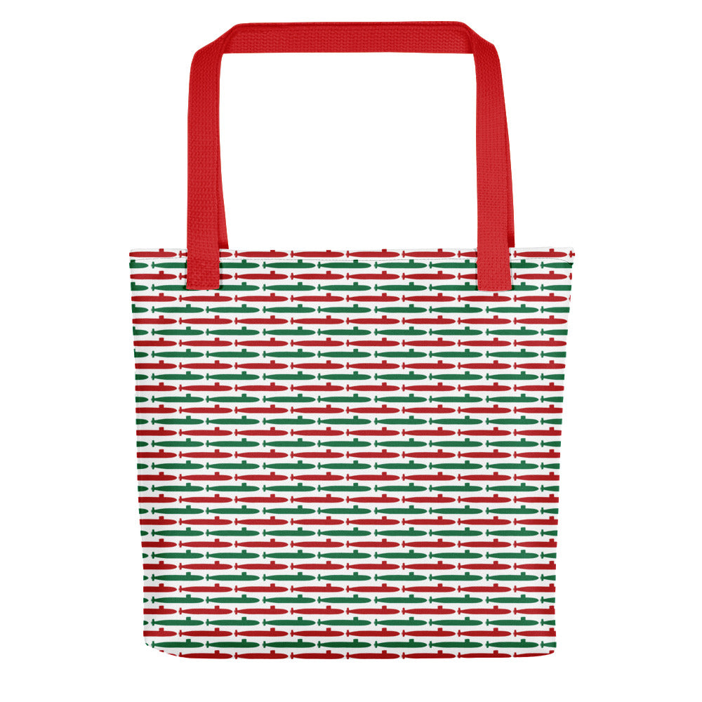 Submarine Christmas Tote bag