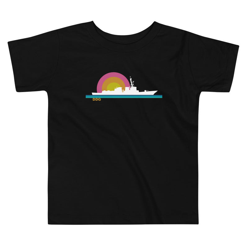 Destroyer Sunset - Toddler Short Sleeve Tee