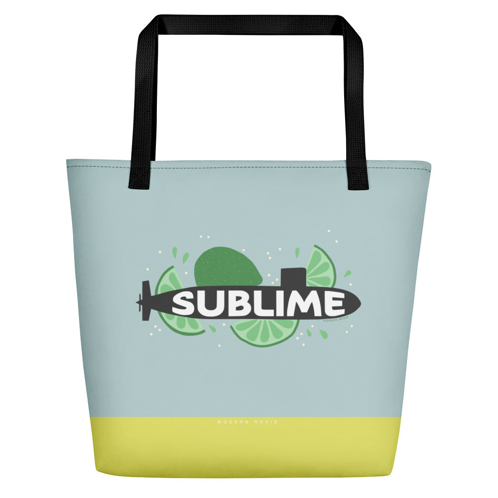The Sublime Beach Bag
