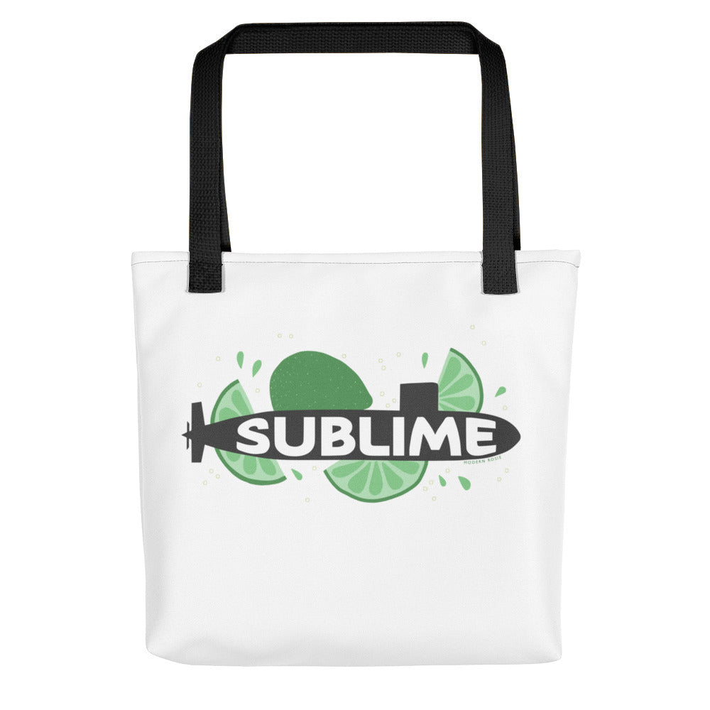 The Sublime Tote (white)