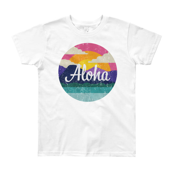 "The ""Aloha"" Tee - big kids from Modern Rosie"
