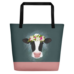 The Aloha Cow Beach Bag